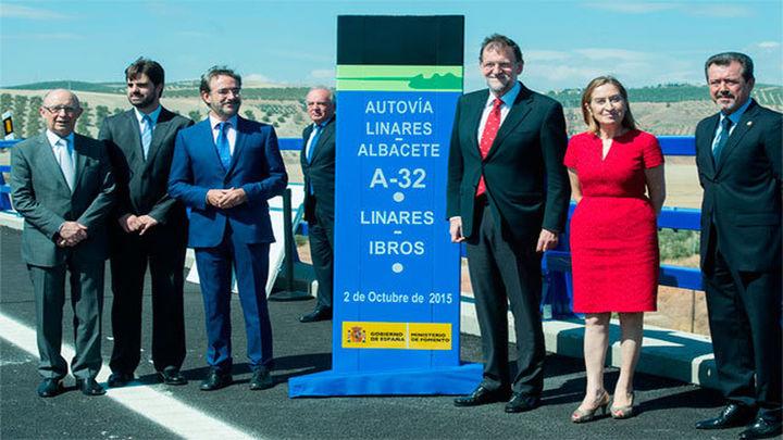 Rajoy inaugura en Granada el último tramo de la A-7