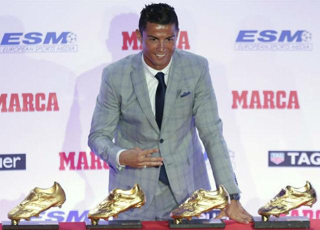 Cristiano Ronaldo, Balón de Oro 2015