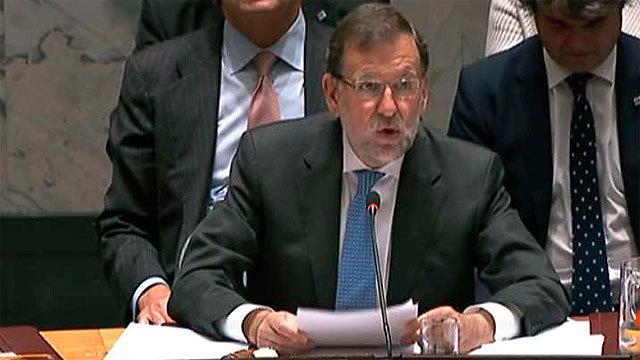 Mariano Rajoy preide la reunión del Consejo de Seguridad de la ONU