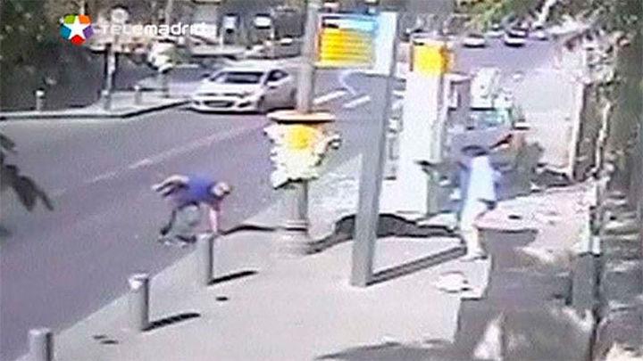 Tres israelíes muertos y 20 heridos en 4 ataques en que mueren dos agresores palestinos