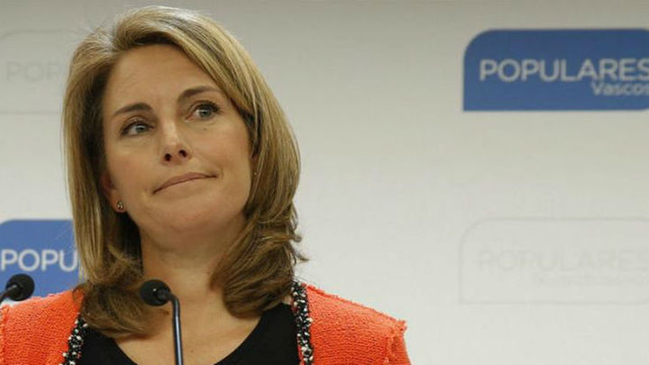 Arantza Quiroga dimite como presidenta de los populares vascos