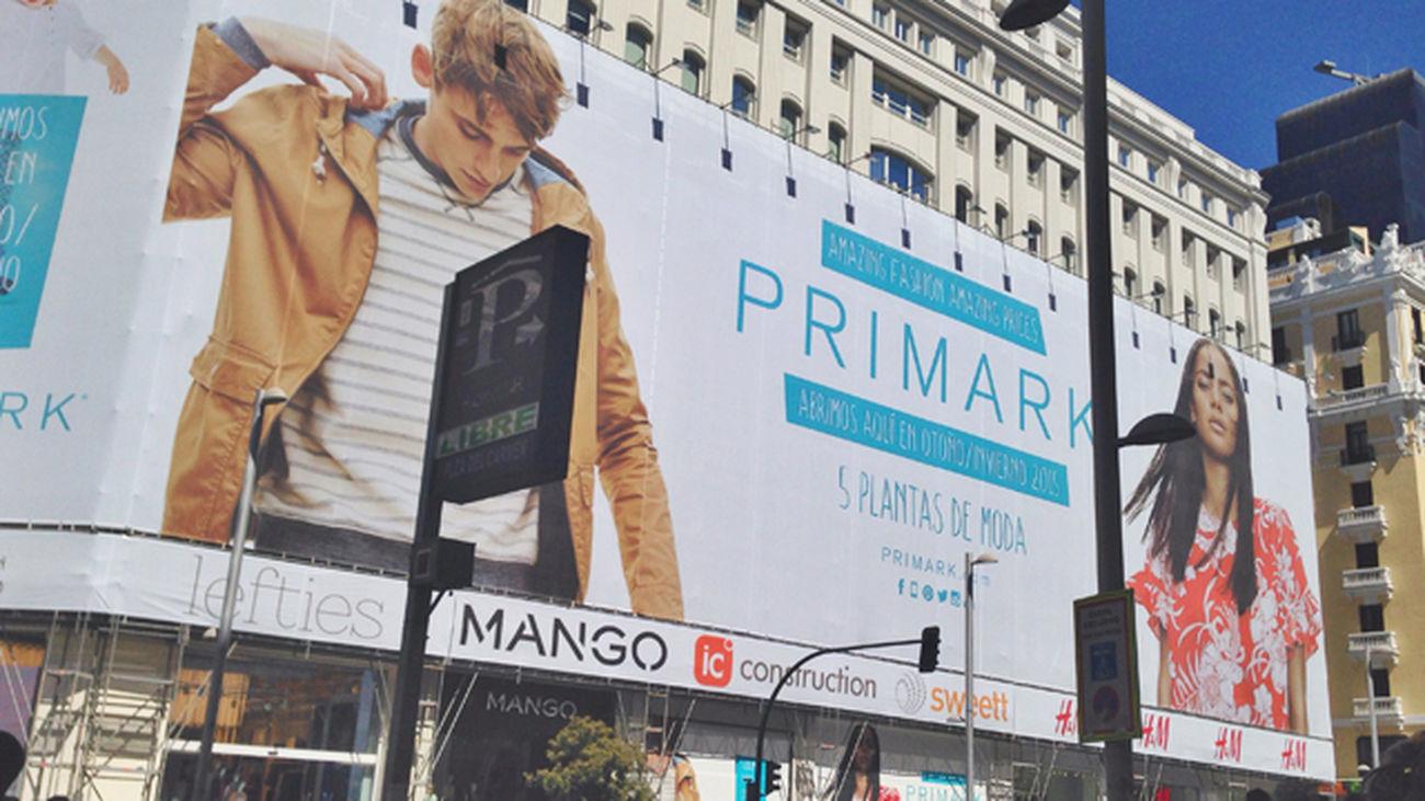 Primark abre en la Gran Vía su tienda más grande en España