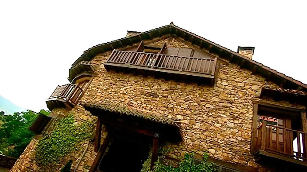 La Casona, una casa rural para alquilar en Horcajuelo