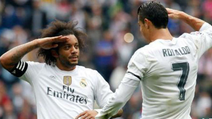 3-0. Marcelo ilumina al Real Madrid