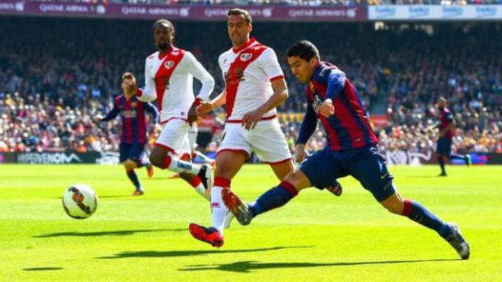 El Rayo busca la sorpresa en el Camp Nou