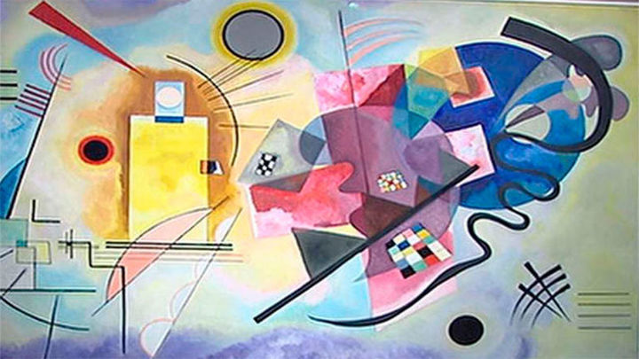 """Llega a Cibeles el Kandinsky """"más íntimo"""""""