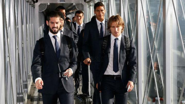 El Madrid viaja a Vigo con Modric y Kovacic, pero sin Bale ni Benzema