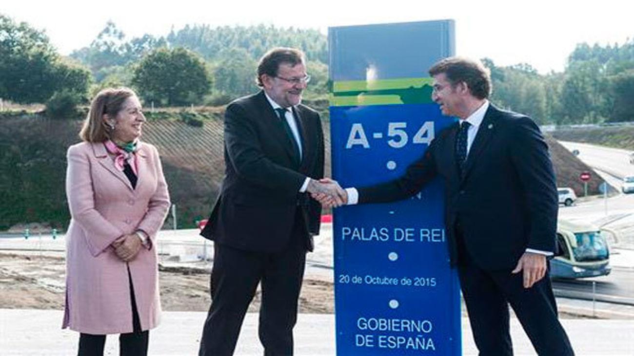 """Rajoy reivindica su gestión de """"hechos"""", aval  para el futuro"""