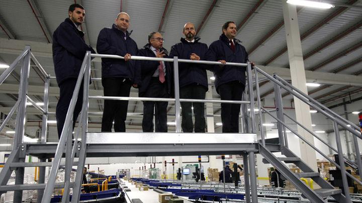 Se abre en Torrejón una de las mayores plataformas de refrigerado y congelado