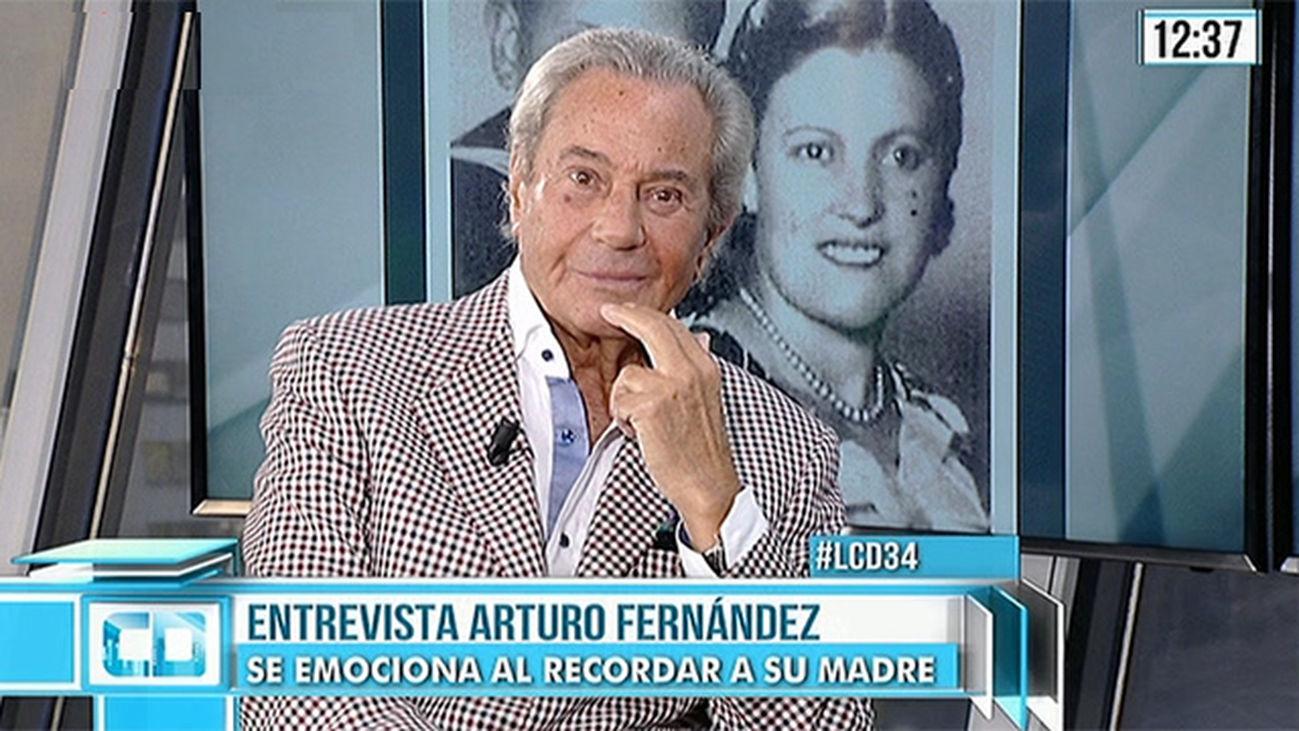 """Arturo Fernández: """"Madrid es mi segunda tierra"""""""
