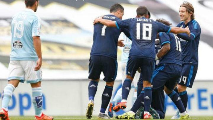 1-3. Un sólido Real Madrid acaba con la imbatibilidad del Celta