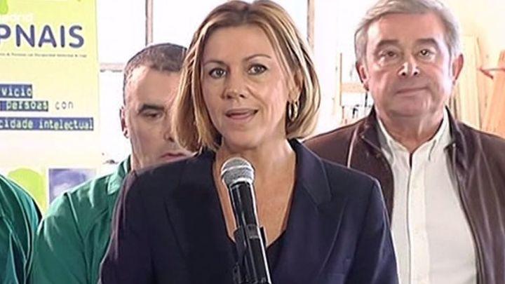 Cospedal afirma que el Gobierno de Rajoy es garante de los servicios sociales