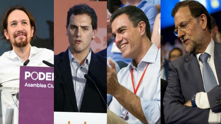 Vencer a las encuestas y entenderse, el reto de los partidos ante el 20D