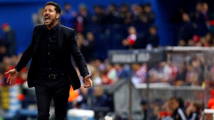 """Simeone: """"El resultado ante el Valencia fue corto"""""""
