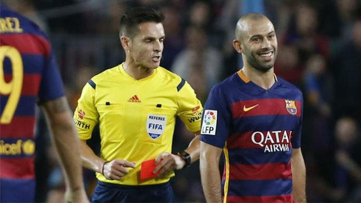 Dos partidos a Mascherano, podrá jugar contra el Madrid del 21-N