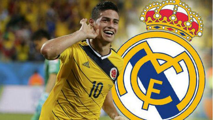 Conflicto entre Colombia y el Madrid por James