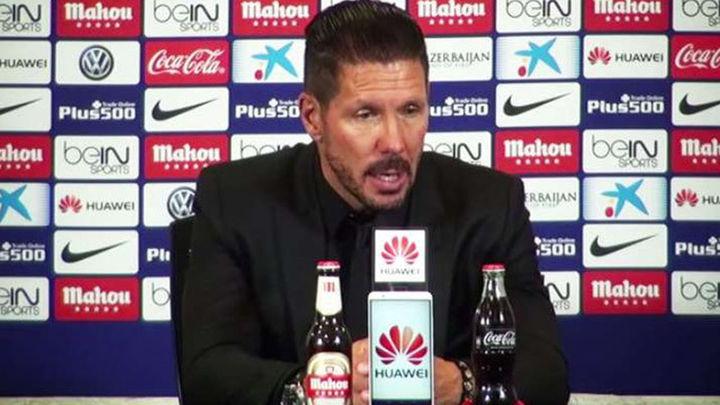 """Simeone: """"No nos quedamos contentos casi nunca, siempre esperamos más"""""""
