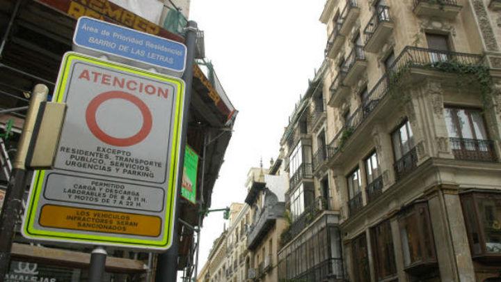 Madrid estudia crear un Area de Prioridad Residencial en toda la almendra central