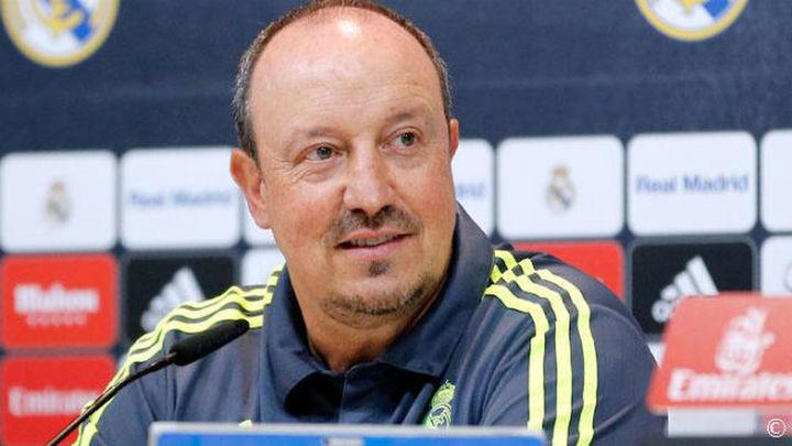 "Benítez: ""No forzaremos a Keylor, Ramos, James ni a Benzema"""