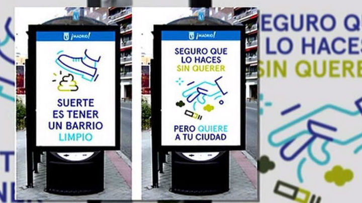 Madrid lanza una campaña de concienciación ciudadana sobre la limpieza