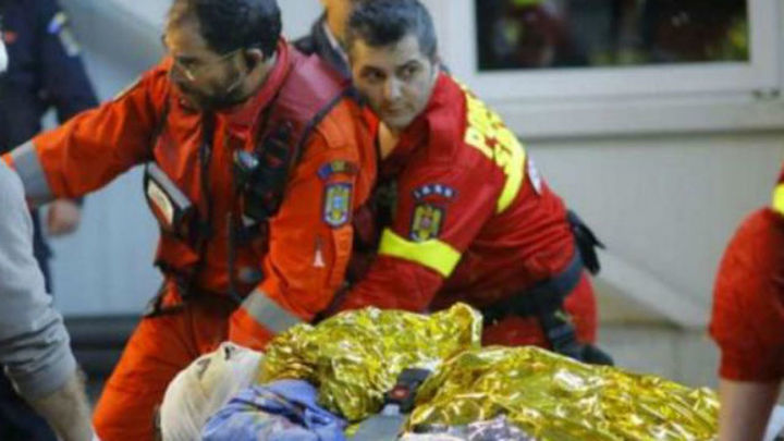 Al menos 27 muertos y 184 heridos, entre estos últimos dos españoles, en Bucarest