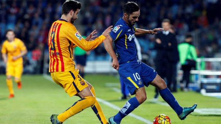 0-2. Un Barça sin brillo derrota a un inofensivo Getafe