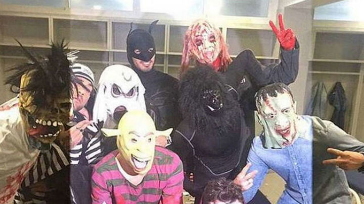 El Halloween de los jugadores del Barcelona indigna al Getafe