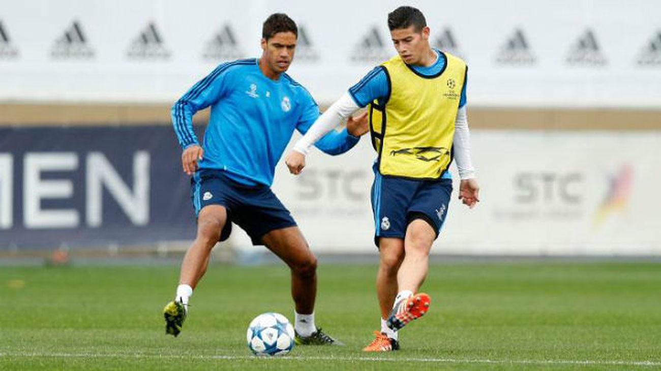 James y Ramos vuelven contra el PSG, pero Benzema y Bale no llegan
