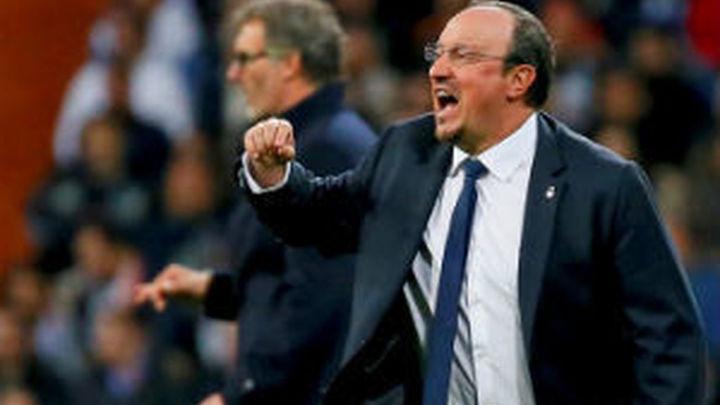 """Benítez: """"Ganamos y supimos sufrir ante el PSG"""""""