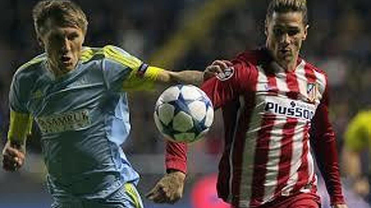 El Atlético, a octavos si suma un punto contra el Galatasaray