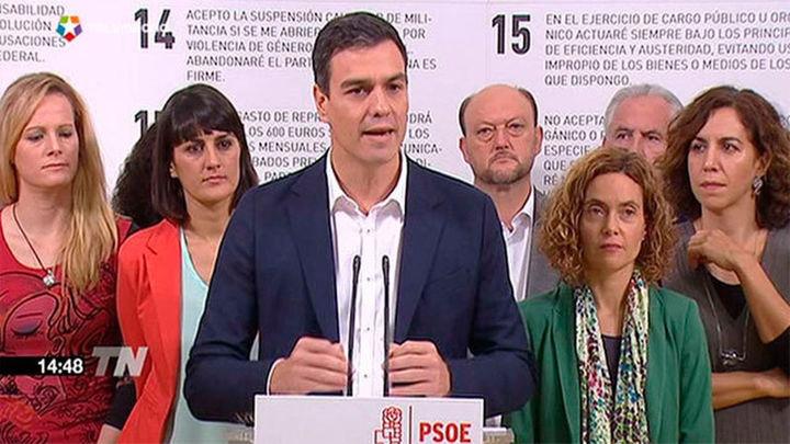 """Sánchez a Mas: """"No hay nada más antidemocrático que romper la ley"""""""