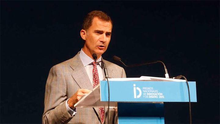 El Rey destaca la innovación como clave para incrementar la competitividad