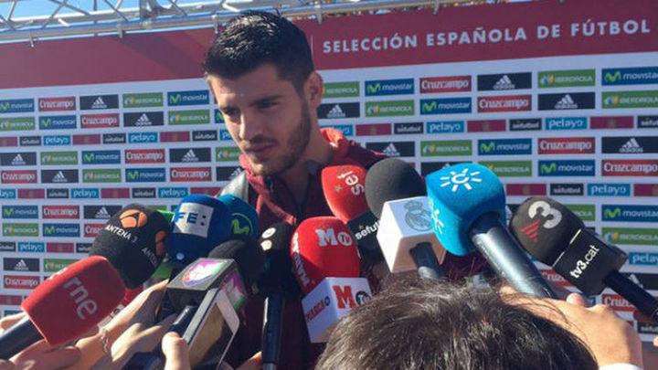 """Morata: """"No me siento un fijo, me siento uno más"""""""
