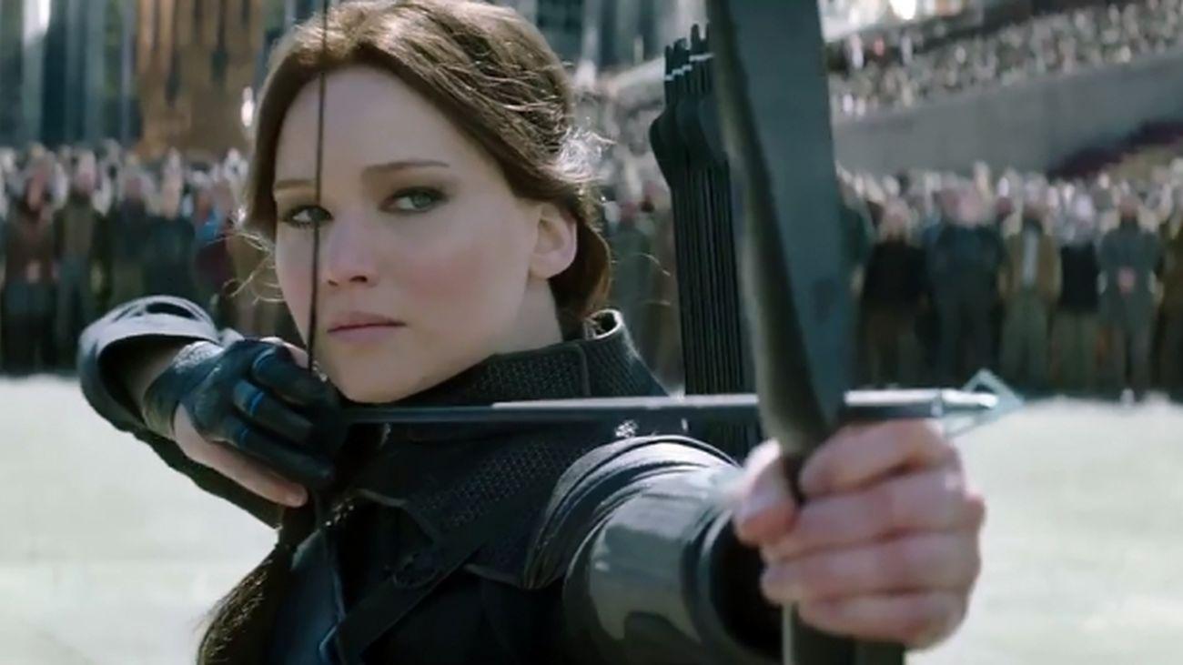 Jennifer Lawrence, presenta 'Sinsajo 2'