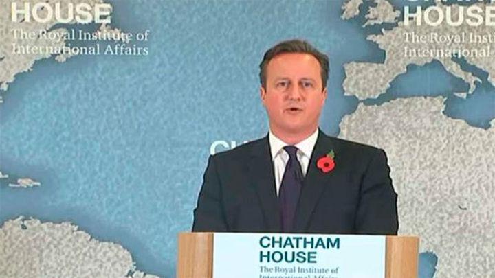 Cameron pide a Bruselas eximir al Reino Unido de una mayor integración europea
