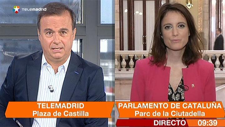 """Andrea Levy: """"Hoy se van a escribir los últimos días de Artur Mas"""""""