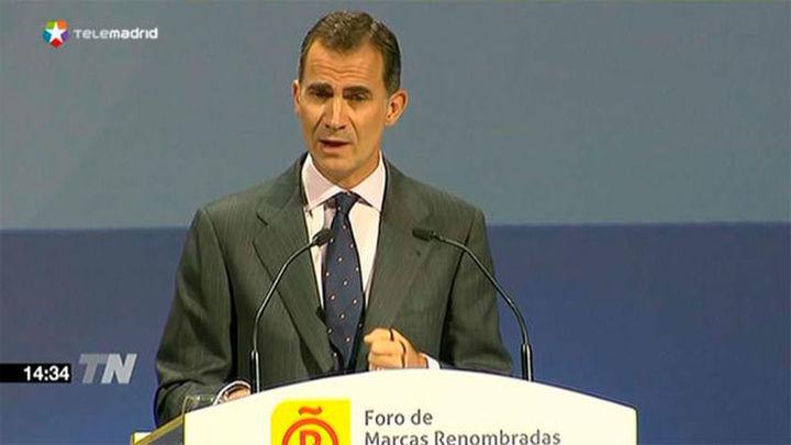 """El Rey: """"La Constitución prevalecerá. Que nadie lo dude"""""""