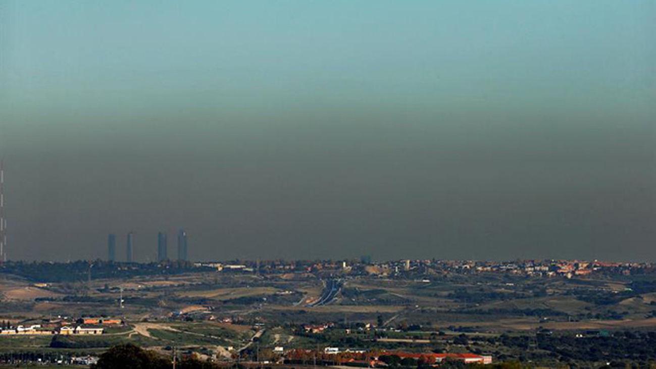 La polución de Madrid