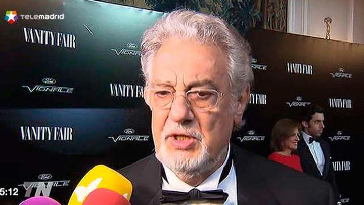 """Plácido Domingo, elegido """"personaje del año"""" por la revista Vanity Fair"""