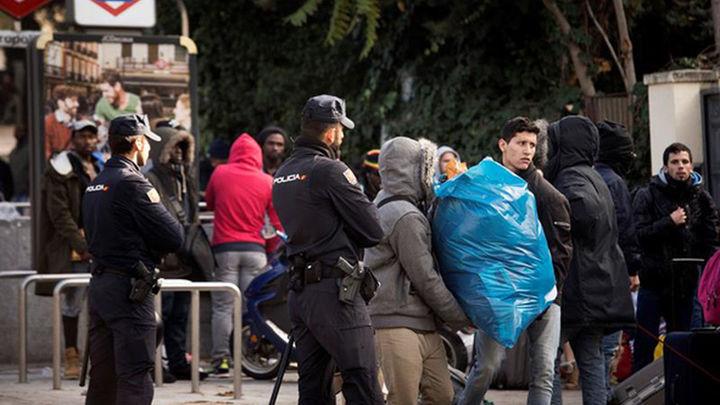 Más de ochenta detenidos y 300 identificados en el desalojo del Johnny