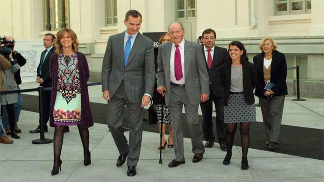 El Rey agradece a don Juan Carlos su ejemplo de concordia nacional