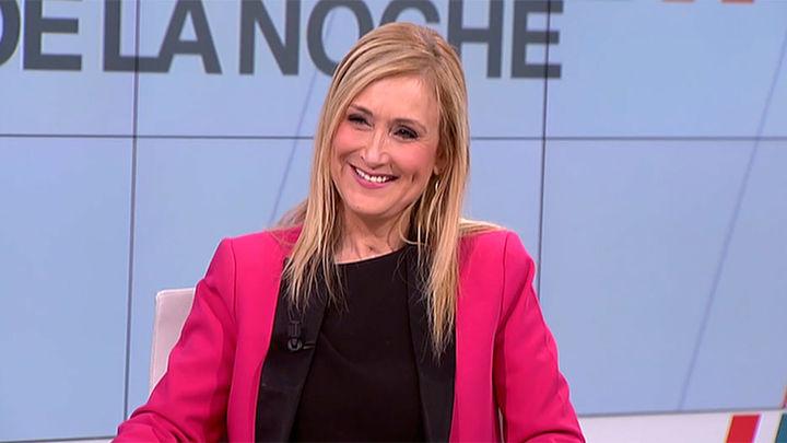 """Cristina Cifuentes: """"A pesar de la fuerte oposición en la Asamblea, todos los proyectos están saliendo hacia adelante"""""""