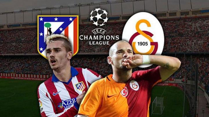 El Atlético, a un empate de octavos contra el Galatasaray