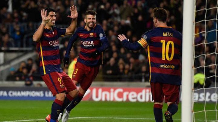 Barcelona y Bayern, a octavos como primeros y a ritmo de goleada
