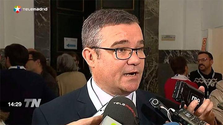 El socialista Guillermo Hita, presidente de la Federación de Municipios de Madrid