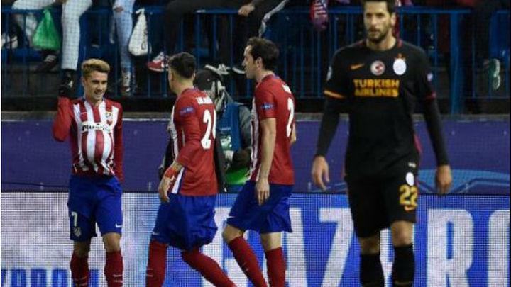 2-0. Griezmann sentencia al Galatasaray y el pase a octavos
