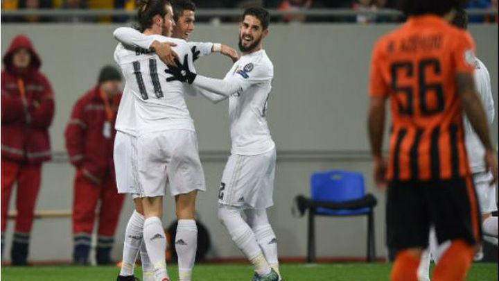3-4. El Real Madrid, de la goleada al sufrimiento ante el Shaktar