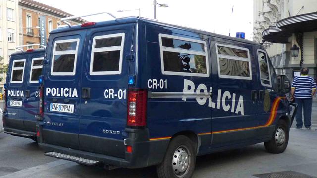 Furgones policiales