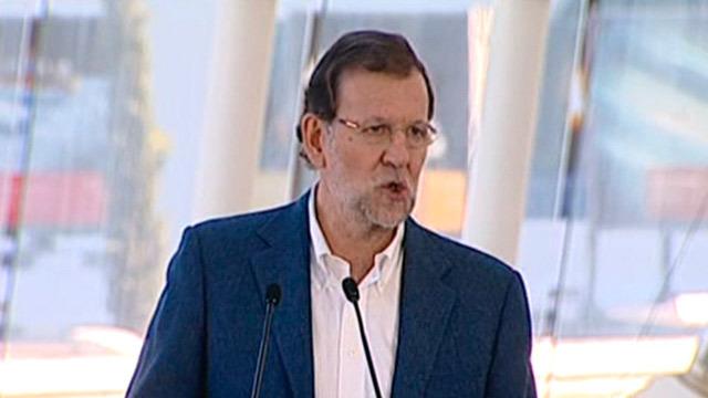 Rajoy promete bajar el IRPF con un tipo mínimo del 17% y un máximo del 43%