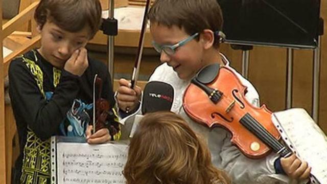 Los niños de la orquesta